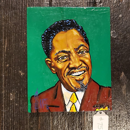 Sonny Boy Williamson II painting by J.D. Sipe