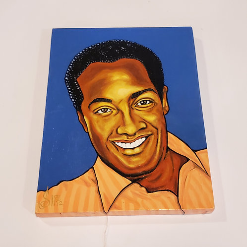 Sam Cooke painting by J.D. Sipe