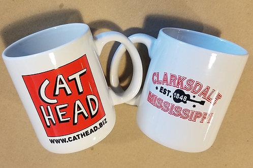 """""""Cat Head"""" mug"""