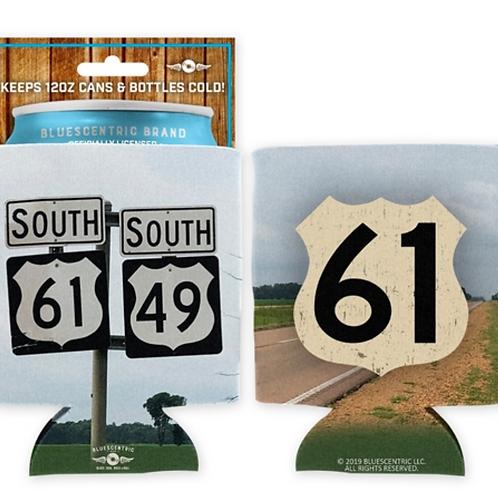 "2 ""Highway 61"" can huggies/koozies"
