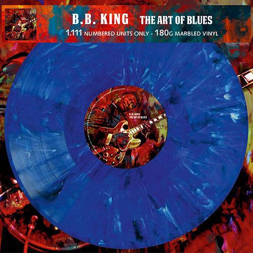"BB KING ""Art of Blues"" marbled vinyl LP"