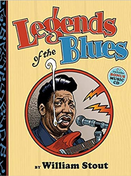 Legends of the Blues book