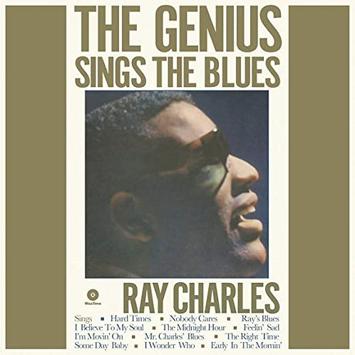 """Ray Charles """"Genius Sings the Blues"""" LP"""