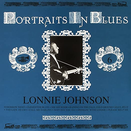 """Lonnie Johnson """"Portraits..."""" LP"""
