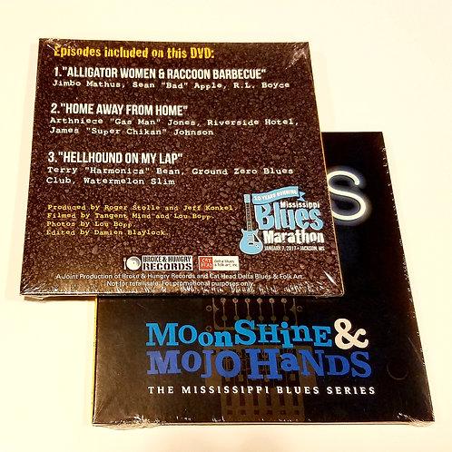 """Moonshine & Mojo Hands"" DVD (3 episodes)"