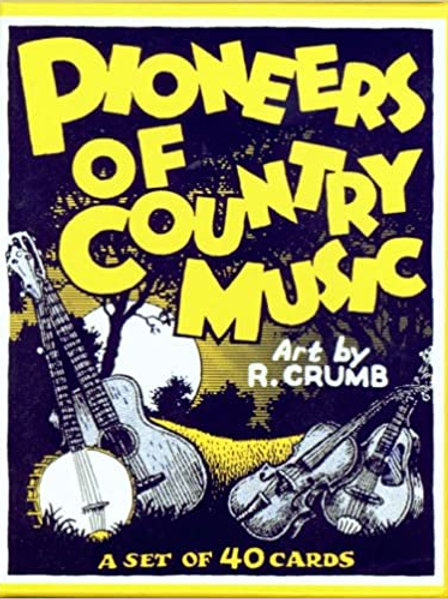 "R. Crumb ""Pioneers of Country Music"" trading card set"