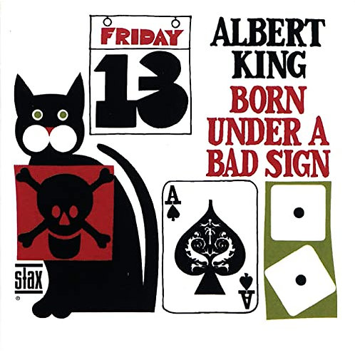 "Albert King ""Born Under a Bad Sign"" CD"