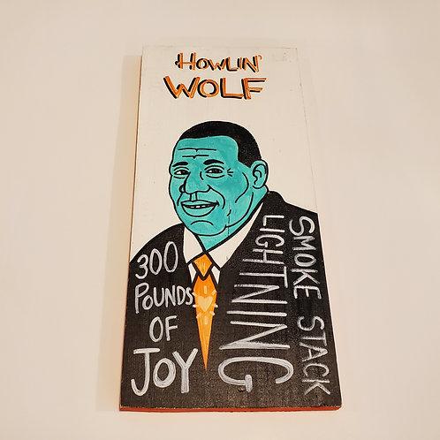 Howlin' Wolf artwork by Chris Kruse