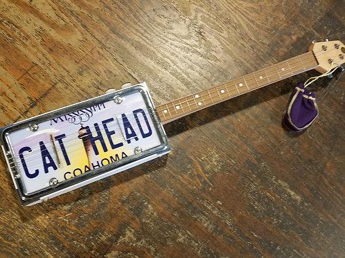 """Custom """"Cat Head"""" box guitar"""