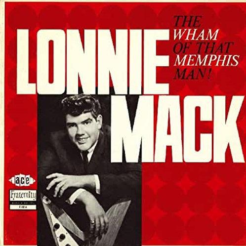 """Lonnie Mack """"Wham of Memphis Man"""" CD"""