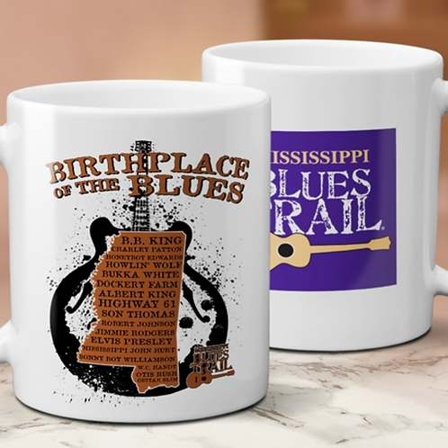 MS Blues Trail/Birthplace mug