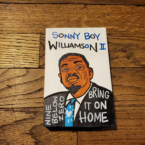 "Mini ""Sonny Boy Williamson II"" art by Chris Kruse"