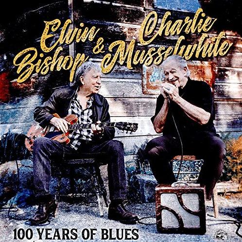 """Charlie Musselwhite/Elvin Bishop """"100 Years"""" CD"""