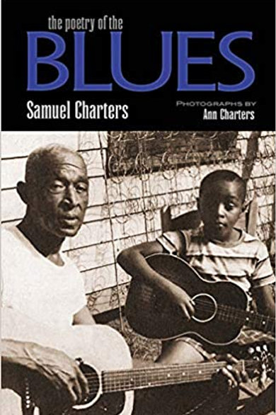 """Sam Charters """"Poetry of Blues"""" book"""