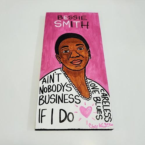 Bessie Smith artwork by Chris Kruse