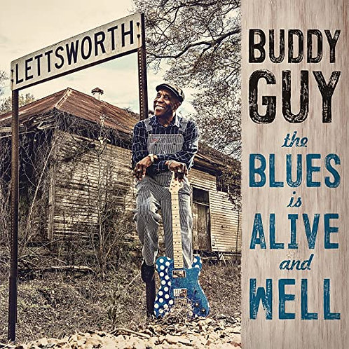 "Buddy Guy ""Alive & Well"" 2 LP set"