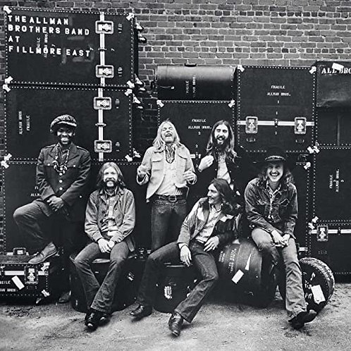 "Allman Brothers ""At Fillmore East"" 2 LP set"