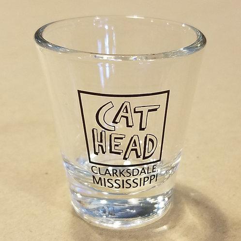 """Cat Head/Clarksdale, Mississippi"" shotglass*"