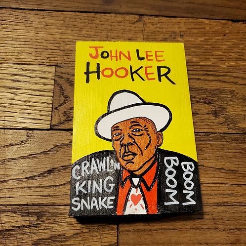 "Mini ""John Lee Hooker"" art by Chris Kruse"