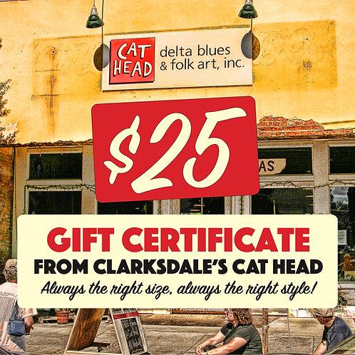 Cat Head Gift Certificate