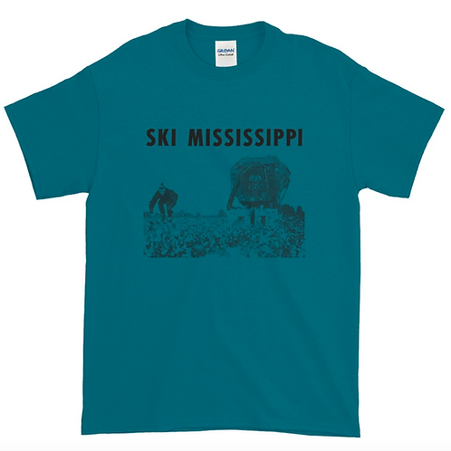 """NEW """"Ski Mississippi"""" T-shirt (3 color choices)"""