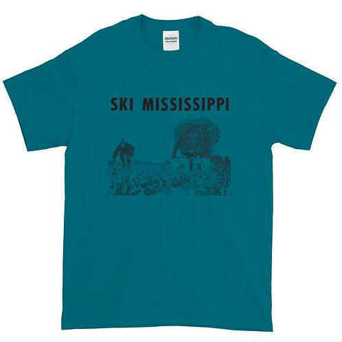 """Ski Mississippi"" T-shirt (4 color choices)"
