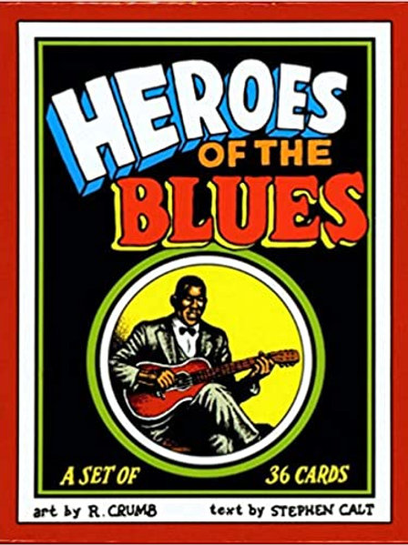 """R. Crumb """"Heroes of Blues"""" trading card set"""