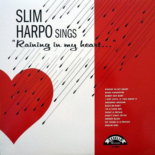 Slim Harpo Sings Raining In My Heart LP