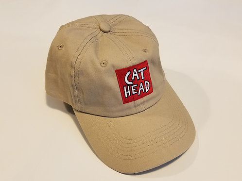 """Cat Head/Clarksdale, Mississippi"" khaki cap"