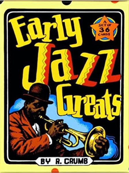 "R. Crumb ""Early Jazz Greats"" trading card set"