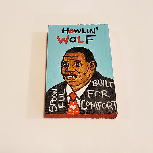 "Mini ""Howlin' Wolf"" art by Chris Kruse"