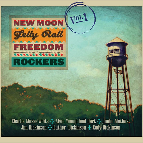 New Moon Jelly Roll Freedom Rockers, Vol. 1 (all-star band!) CD