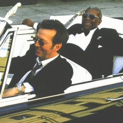 "BB & Clapton ""Riding...King"" CD"