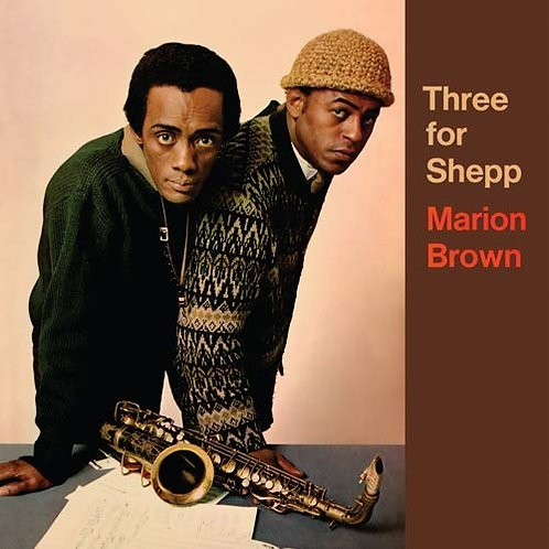 "Marion Brown ""Three for Shepp"" LP"
