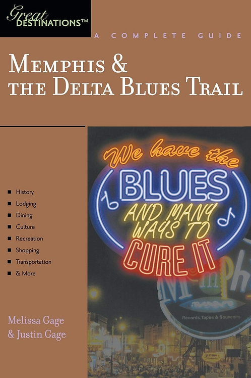 """Memphis & Delta Blues Trail"" book"