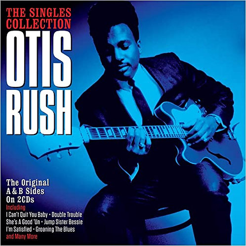 Otis Rush NEW collection of singles, 2-CD set