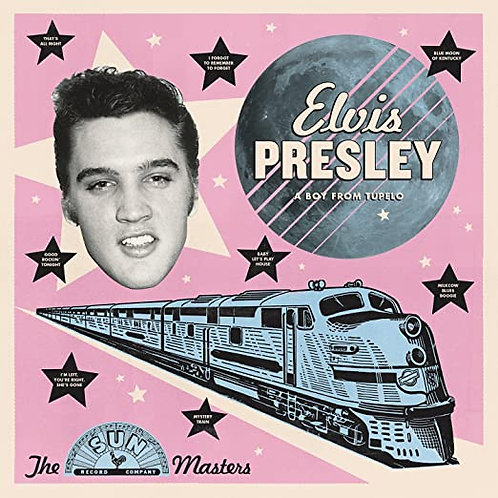 "Elvis Presley ""A Boy from Tupelo"" LP"