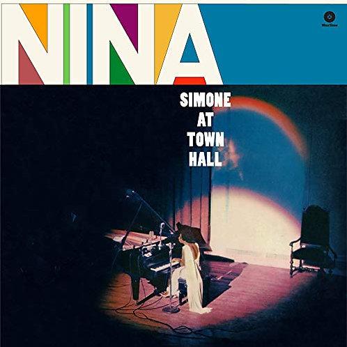 """Nina Simone """"Live at Town Hall"""" LP"""