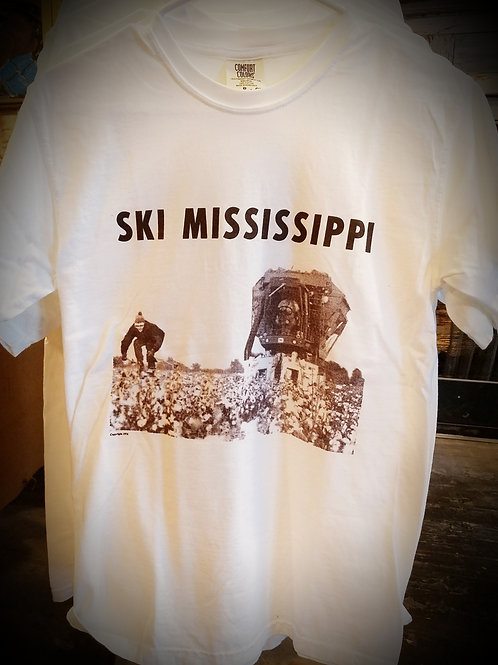 "XXL - Adult ""Ski Mississippi"" T-shirt"