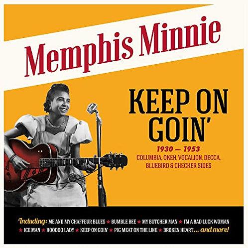 """Memphis Minnie """"Keep Goin'"""" LP"""