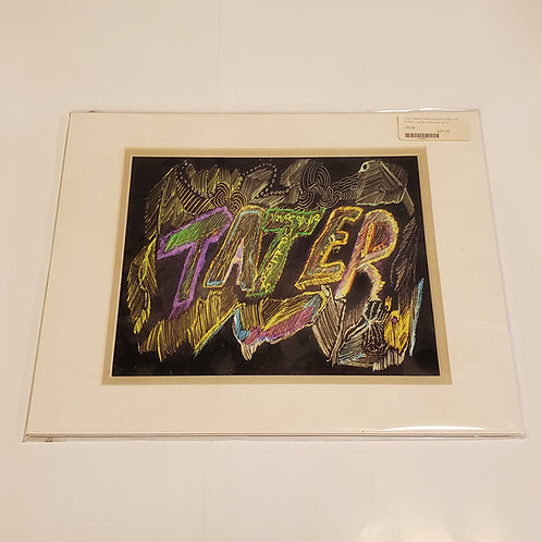 "RL Superbad ""Mr. Tater"" matted print"