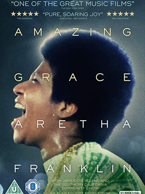 NEW! Aretha Franklin: Amazing Grace DVD