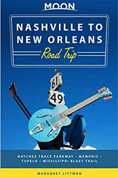 """Moon """"Nashville to New Orleans Road-trip"""" book"""