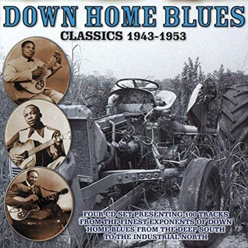 Downhome Blues Classics 4-CD set