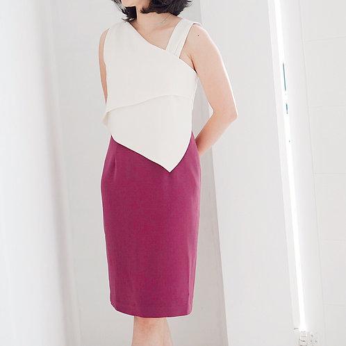 Anna 2-Tone Dress