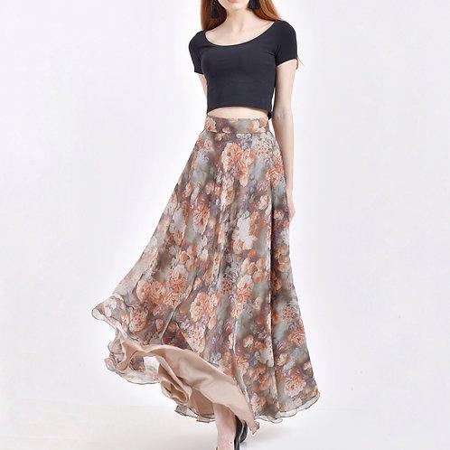 Flora Maxi Skirt