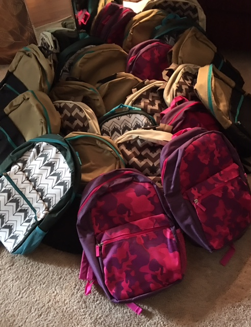 Bookbags School Supplies