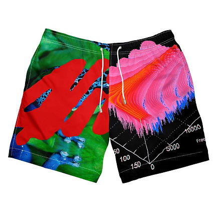 POISON DART FROG SWIM SHORTS by ALIVE AND MORE