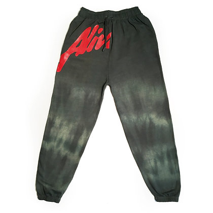MARBLE EARTH GREEN STUDIO SWEATS Marked by Alive & More