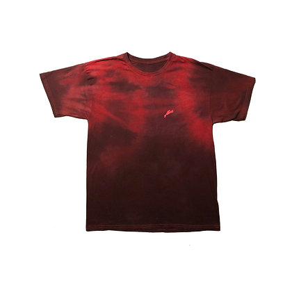 RED STEALTH ALIVE METAL SIGNATURE TEE